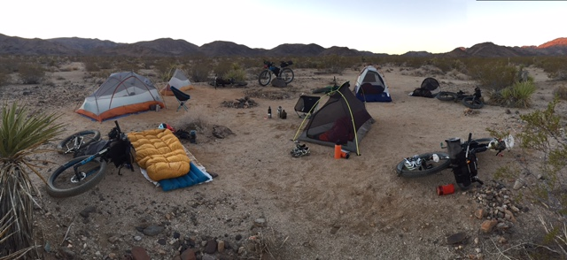 Camp Dirtbag at Sunrise